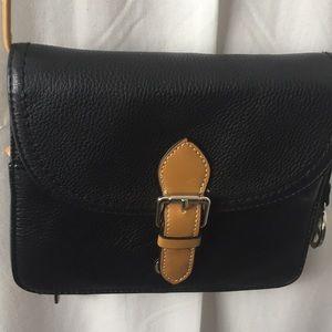 NWOT Gianni Bernini Leather crossbody Bag